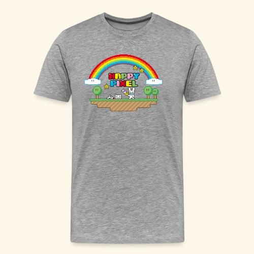 Happy Pixel (R-rated) - Men's Premium T-Shirt