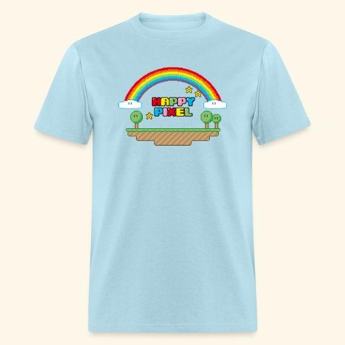 Happy Pixel - Men's T-Shirt