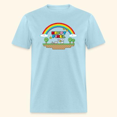 Happy Pixel (R-rated) - Men's T-Shirt