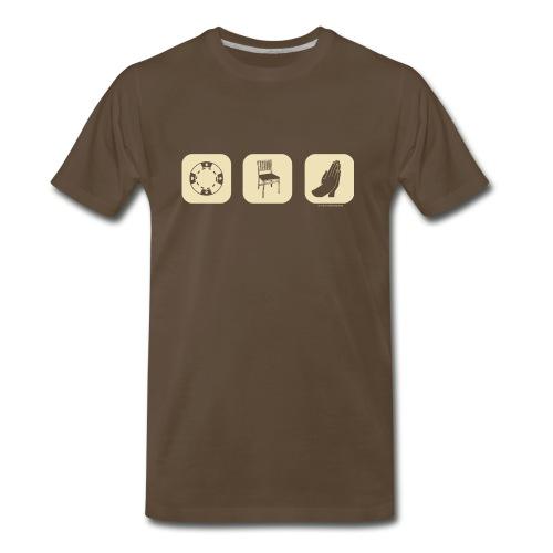 A Chip, A Chair, & a Prayer - Men's Premium T-Shirt