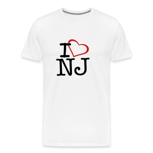 nj - Men's Premium T-Shirt