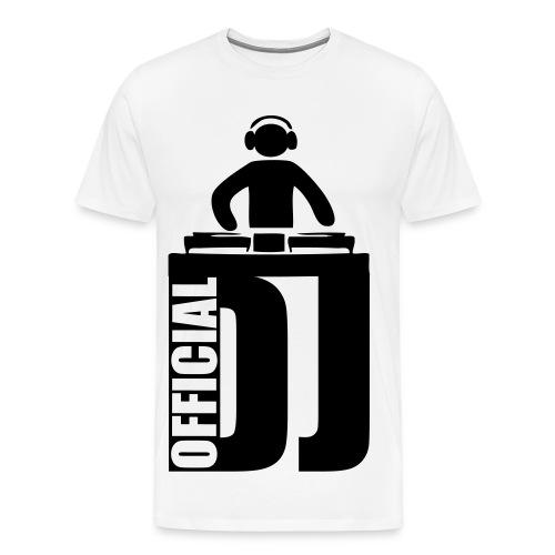 Official DJ T-Shirt - Men's Premium T-Shirt