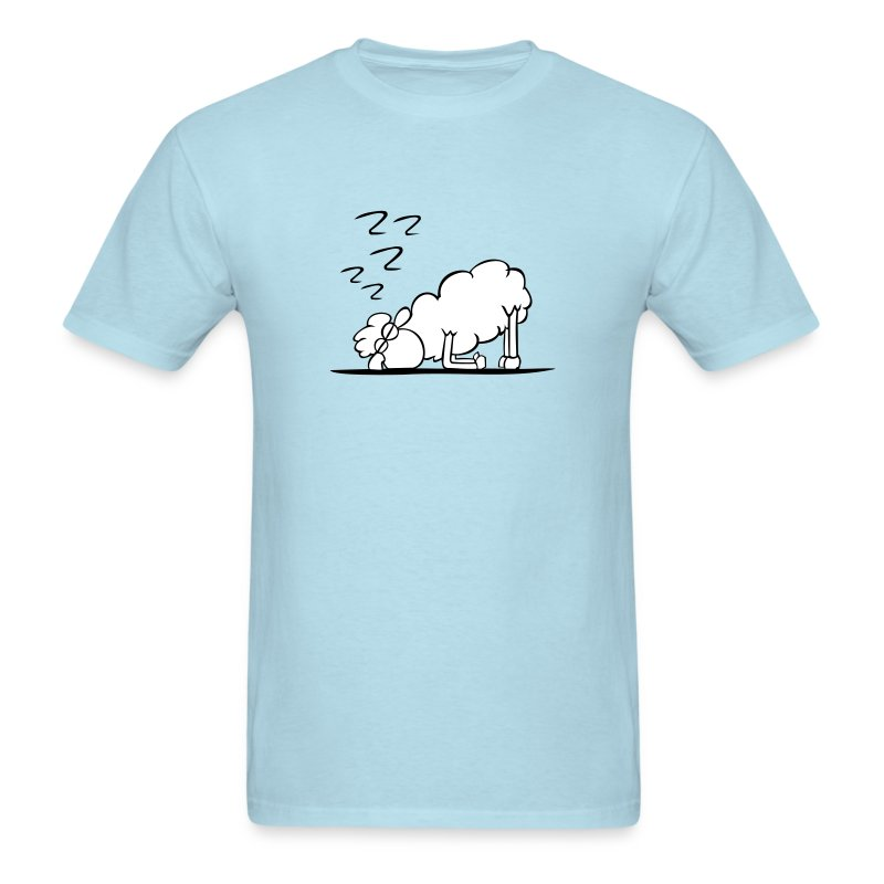 sheep sleeping - Men's T-Shirt