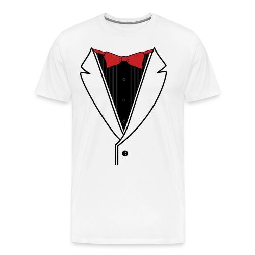Custom Tuxedo - Reverse Scheme - Men's Premium T-Shirt