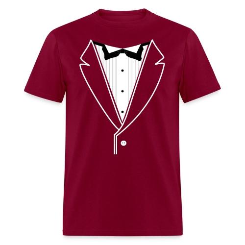 Custom Tuxedo Plain - Men's T-Shirt