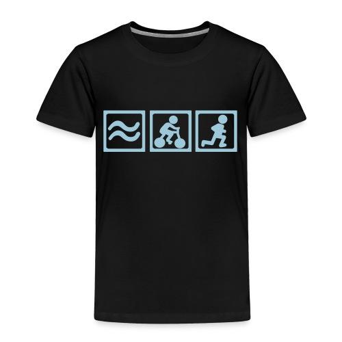 Kids Tri  - Toddler Premium T-Shirt