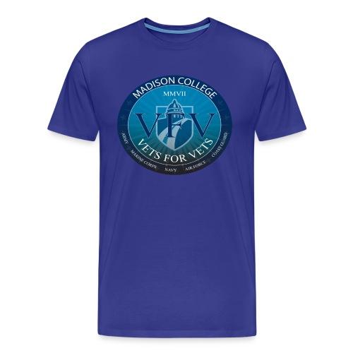 Madison College Vets for Vets Shirt - Men's Premium T-Shirt