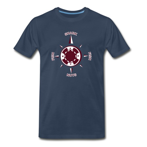 My Poker Compass - Men's Premium T-Shirt