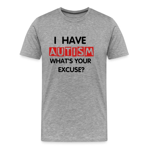 Autism Awareness Tee - Men's Premium T-Shirt