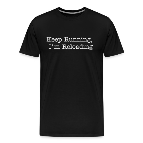 Keep running - Men's Premium T-Shirt