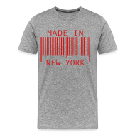 T-Shirts ~ Men's Premium T-Shirt ~ Made in New York