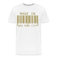 T-Shirts ~ Men's Premium T-Shirt ~ Made in New York City