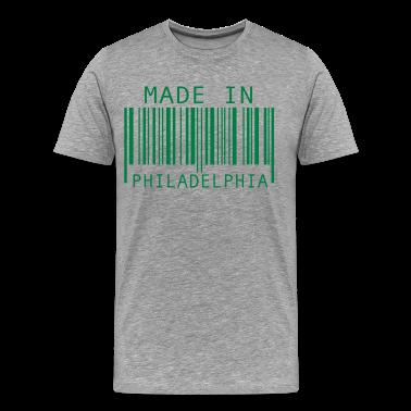 Heather grey Made in Philadelphia T-Shirts