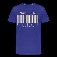 T-Shirts ~ Men's Premium T-Shirt ~ Made in U.S.A.