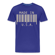 T-Shirts ~ Men's Premium T-Shirt ~ Made in U.S.A.