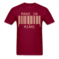T-Shirts ~ Men's T-Shirt ~ Made in Miami
