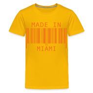 Kids' Shirts ~ Kids' Premium T-Shirt ~ Made in Miami