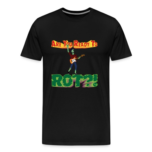zombie t - Men's Premium T-Shirt