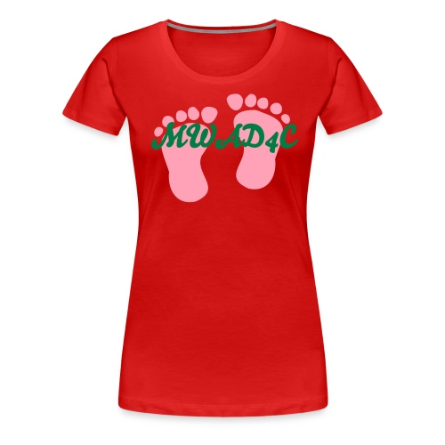 Mothers with a dream 4 Christ - Women's Premium T-Shirt