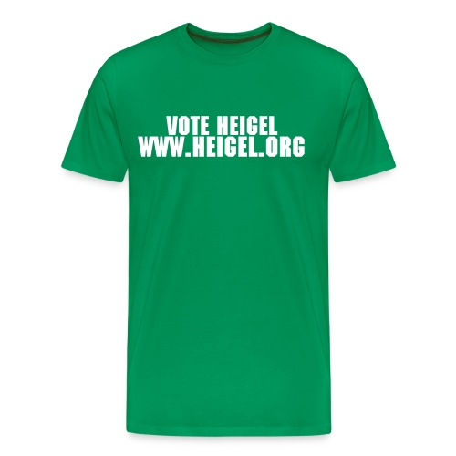 Vote Heigel Tee - Men's Premium T-Shirt