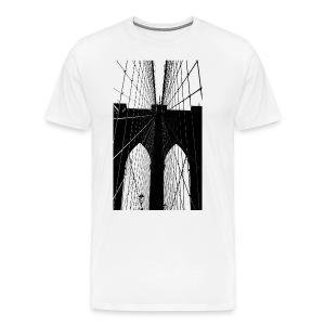 Brooklyn Bridge  - Men's Premium T-Shirt