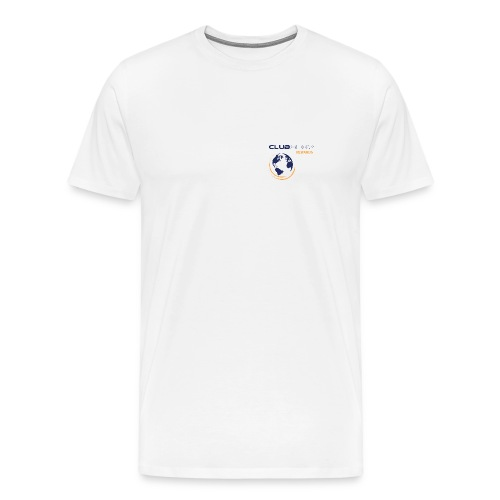 White ClubShop Rewards Men's XXXL - Men's Premium T-Shirt