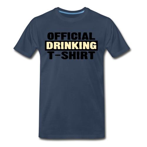 drinking - Men's Premium T-Shirt