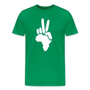 Africa Peace - Men's Premium T-Shirt