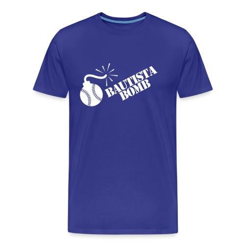 Bautista Bomb T-Shirt - White Logo (Men's) - Men's Premium T-Shirt