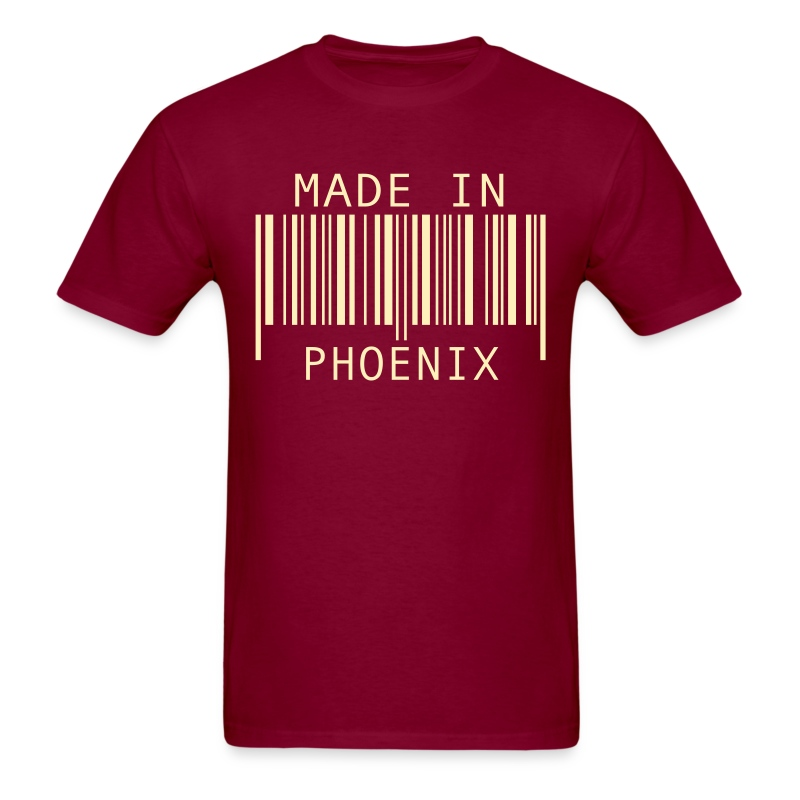 Made in phoenix t shirt spreadshirt for Made in t shirts