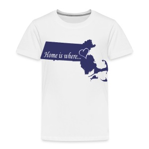 Home is where... Toddler T-Shirt - Toddler Premium T-Shirt