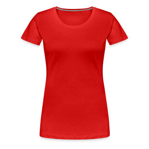Just Me/ no design - Women's Premium T-Shirt