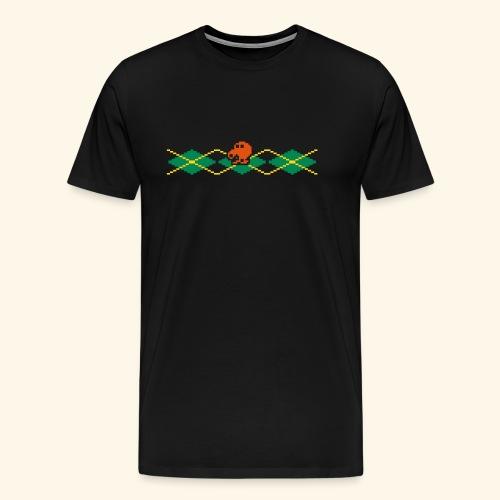 Q*Plaid - Men's Premium T-Shirt