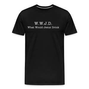 Heavyweight Men's Tee: W.W.J.D. - Men's Premium T-Shirt