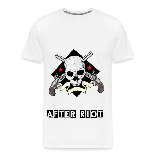 After Riot - Skull And Guns - Men's Premium T-Shirt