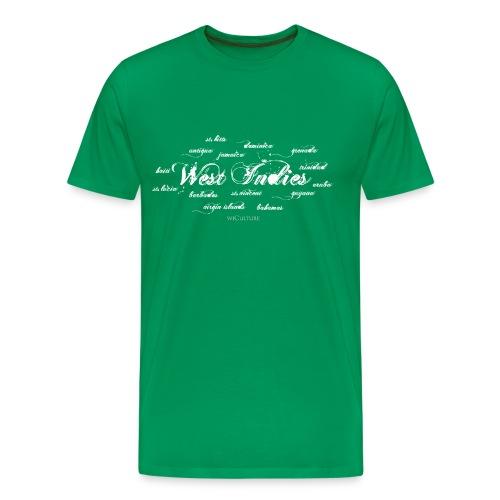 Islands of the West Indies - Men's Premium T-Shirt
