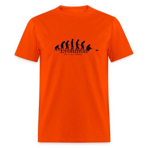 Orange Herper EVOLUTION Tee - Men's T-Shirt