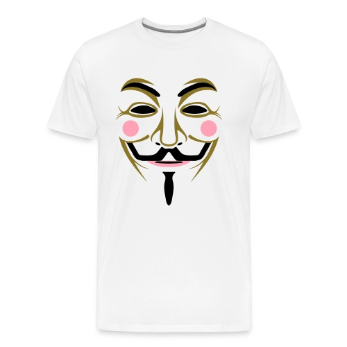 Guy Fawkes Shirt - Men's Premium T-Shirt