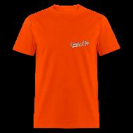 T-Shirts ~ Men's T-Shirt ~ Men's F/B: SMALL CC logo/Always Next Year Here (orange)