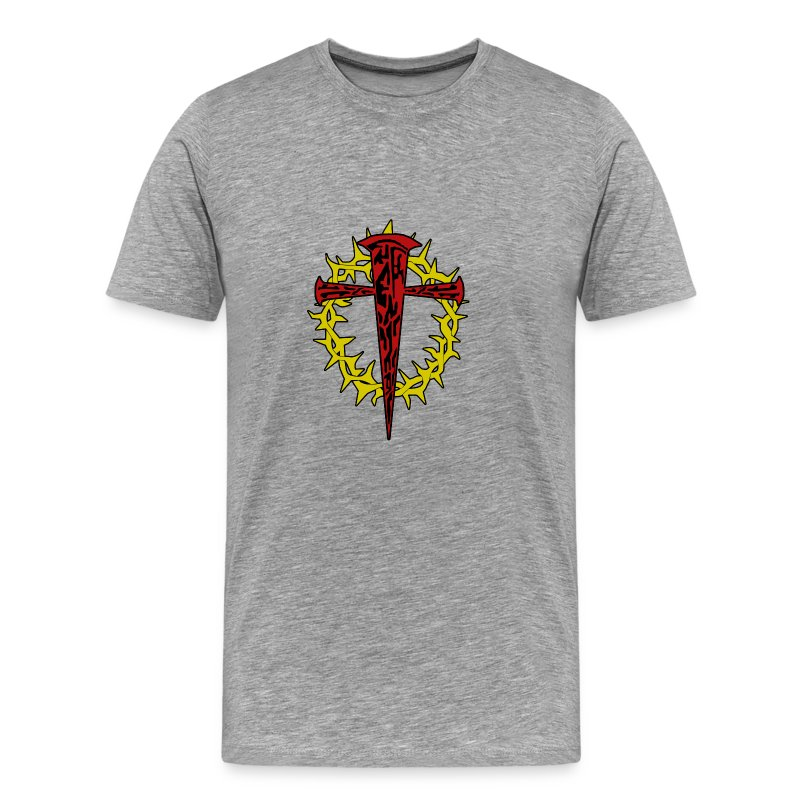 nails_and_thorns_color - Men's Premium T-Shirt