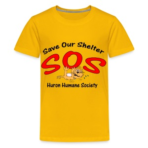 Save our Shelter! Children's T-Shirt - Kids' Premium T-Shirt