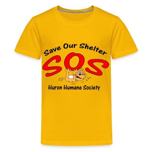 Save our Shelter! Children's T-Shirt - Kids' Premium T-Shirt