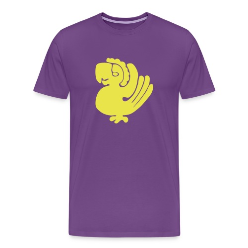 Purple Parrots Custom Team Shirt - Men's Premium T-Shirt