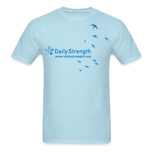 Men's Standard Fit Summer Affirmation 2010 Tee (blue) - Men's T-Shirt
