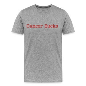 Cancer Sucks Red - Men's Premium T-Shirt