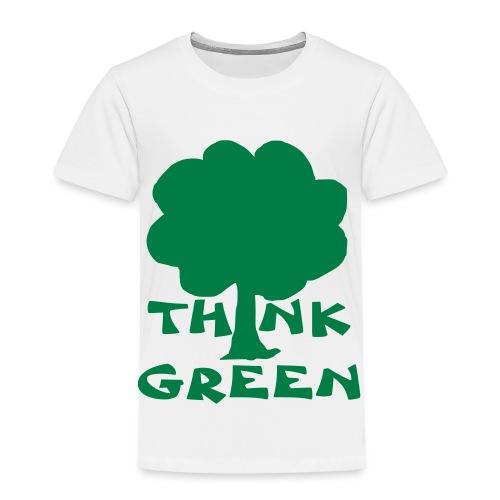 Think Green Tee - Toddler Premium T-Shirt