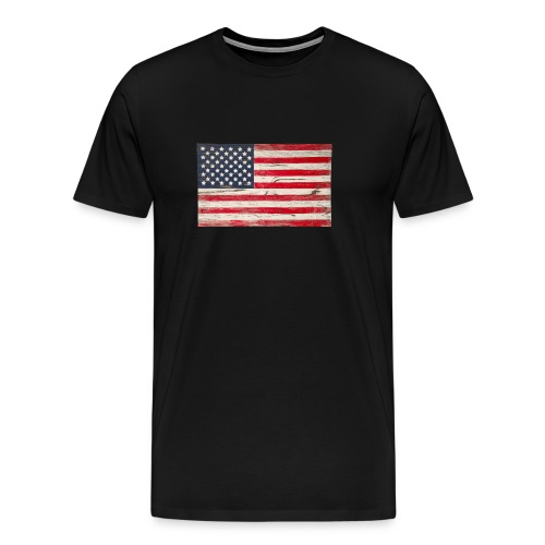 Mens American Flag - Men's Premium T-Shirt