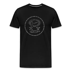 Conjuration Of Lucifer Tee - Men's Premium T-Shirt