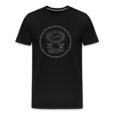 """""""Conjuration Of Lucifer"""" Tee"""