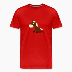 Red Pony (3c) T-Shirts